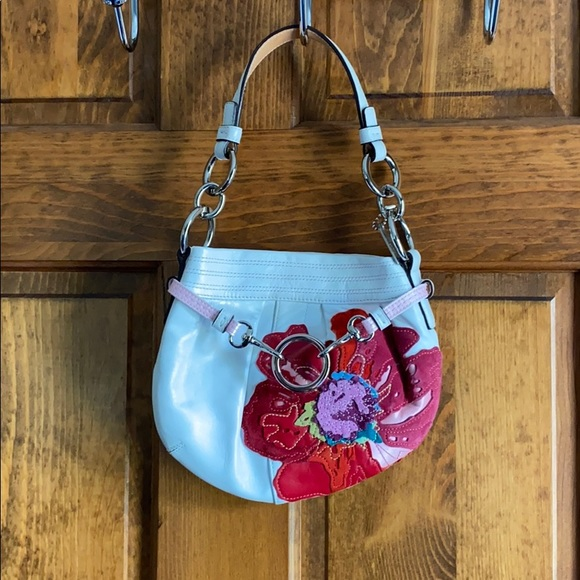 Coach Handbags - Floral Coach Handbag